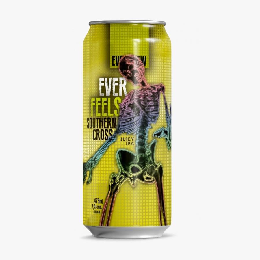 Cerveja Everbrew Ever Feels Southern Cross Juicy IPA Lata 473ml  - Geek N