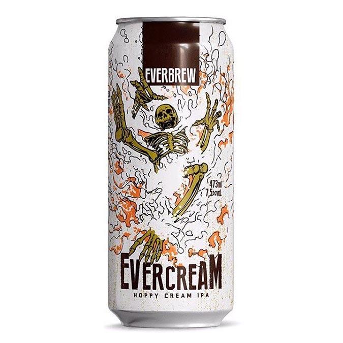 Cerveja Everbrew Evercream v2 Lata 473ml