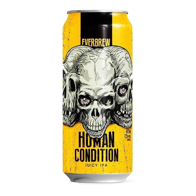 Cerveja Everbrew Human Condition Juicy IPA Lata 473ml