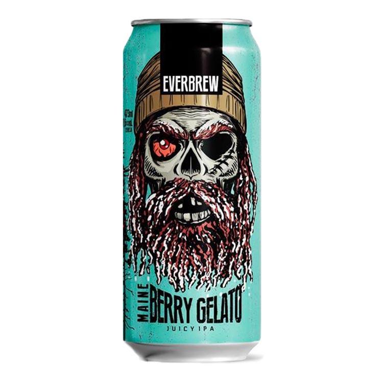 Cerveja Everbrew Maine Berry Gelato Juicy IPA Lata 473ml
