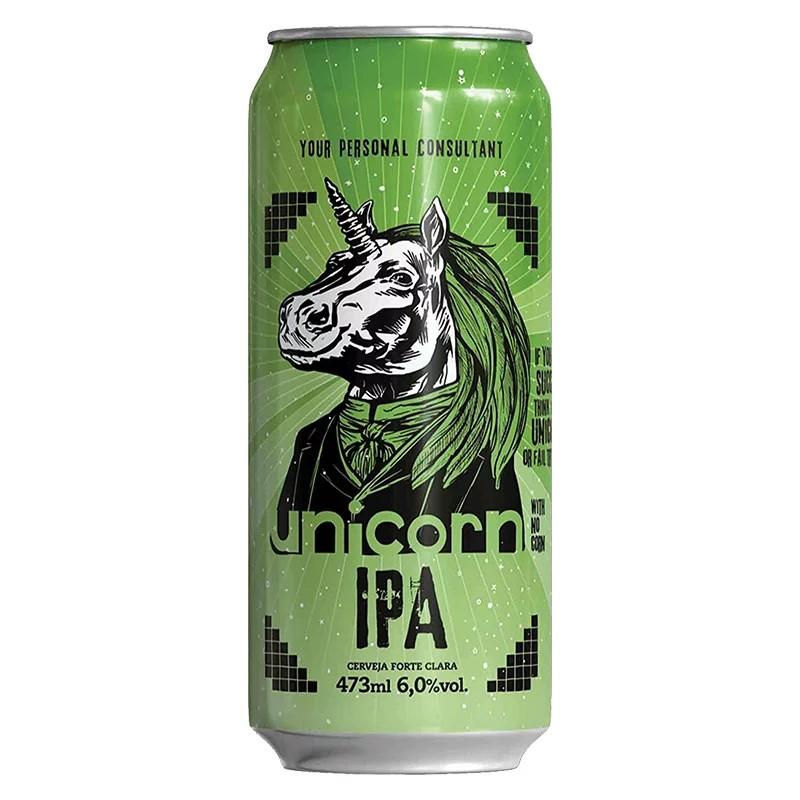 Cerveja Unicorn IPA Lata 473ml