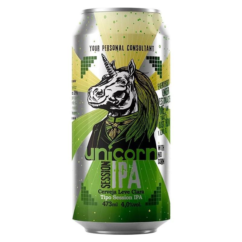 Cerveja Unicorn Session IPA Lata 473ml