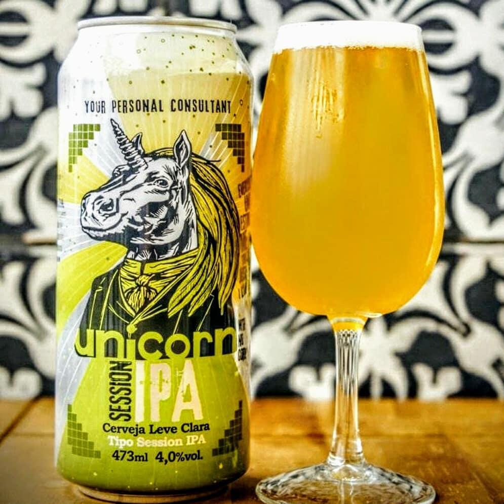 Cerveja Unicorn Session IPA Lata 473ml  - Geek N