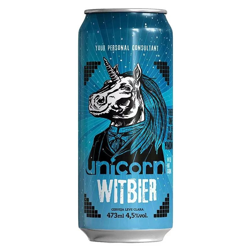 Cerveja Unicorn Witibier Lata 473ml  - Geek N