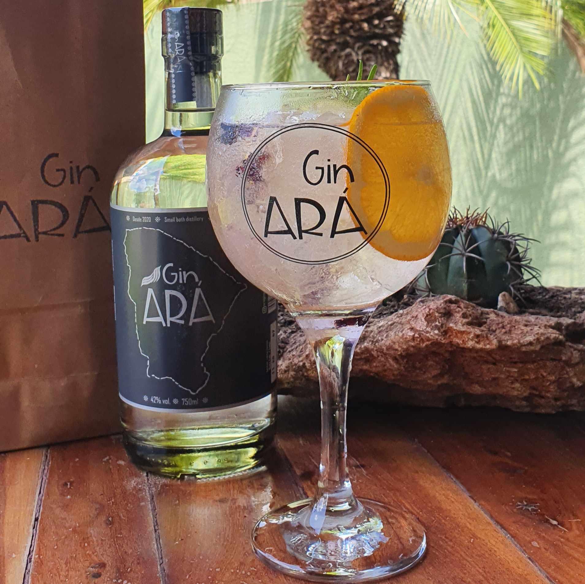 Gin Ará Garrafa 750ml  - Geek N