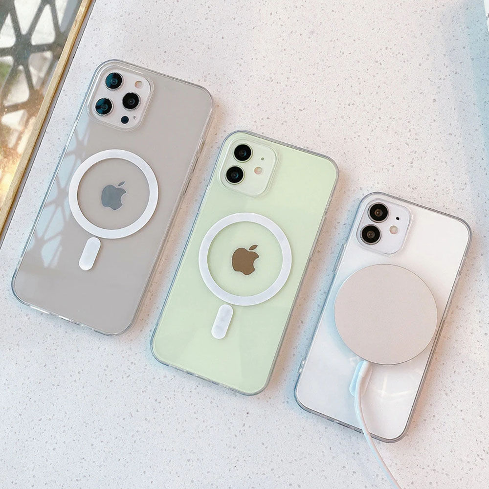 Capinha Clear Case Magnetic