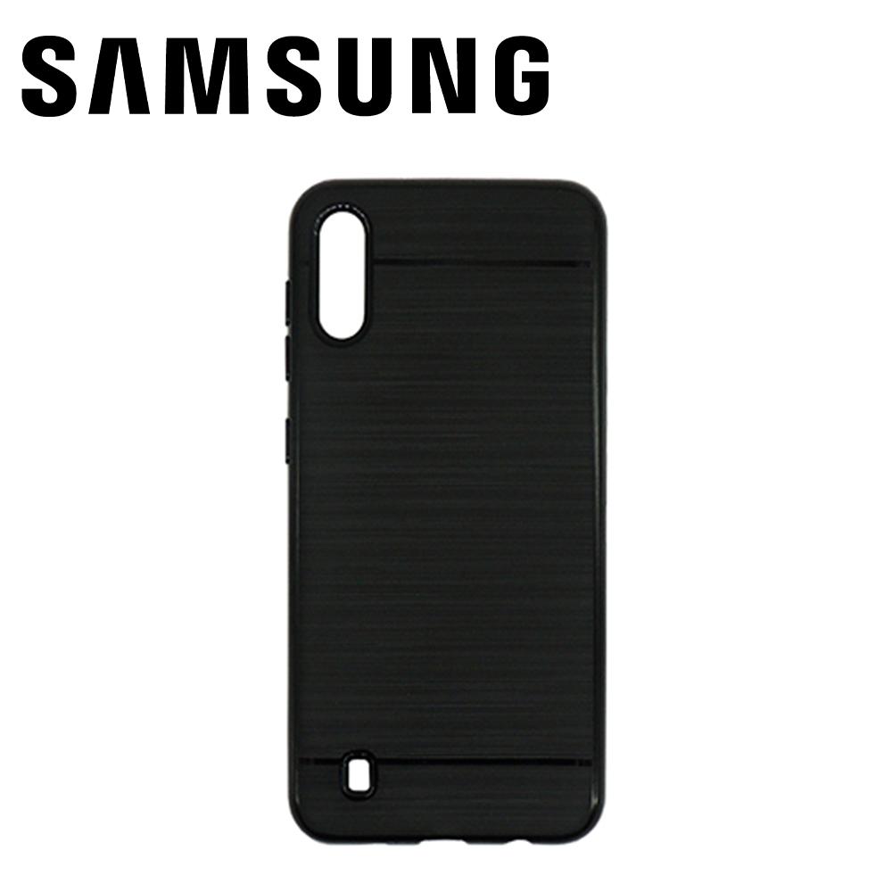 Capinha de Silicone Preta - Samsung