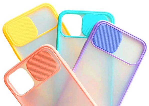 Capinha de Silicone Slide - Cores Sortidas