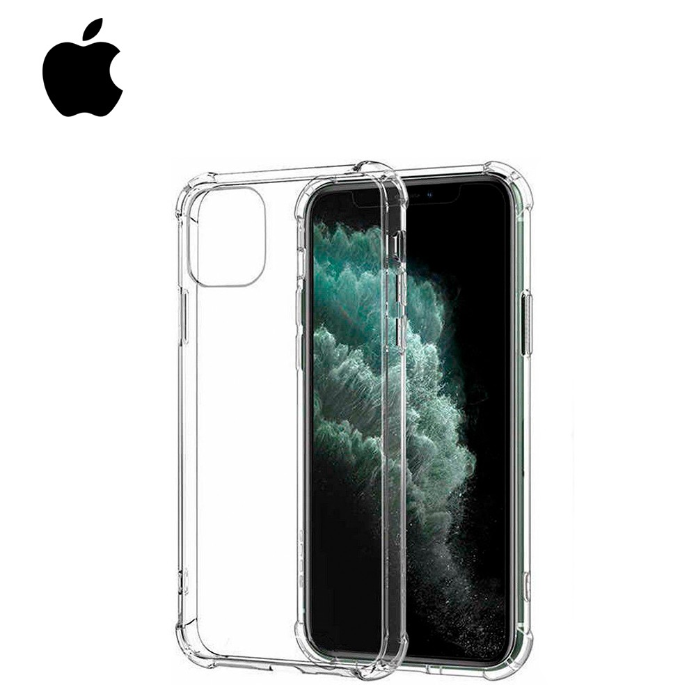 Capinha de TPU Antishock Transparente - Apple