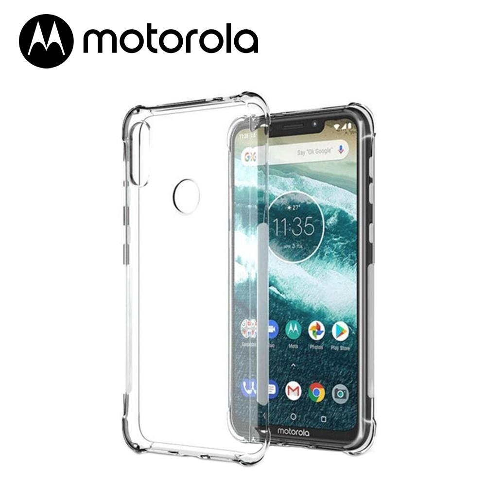 Capinha de TPU Antishock Transparente - Motorola