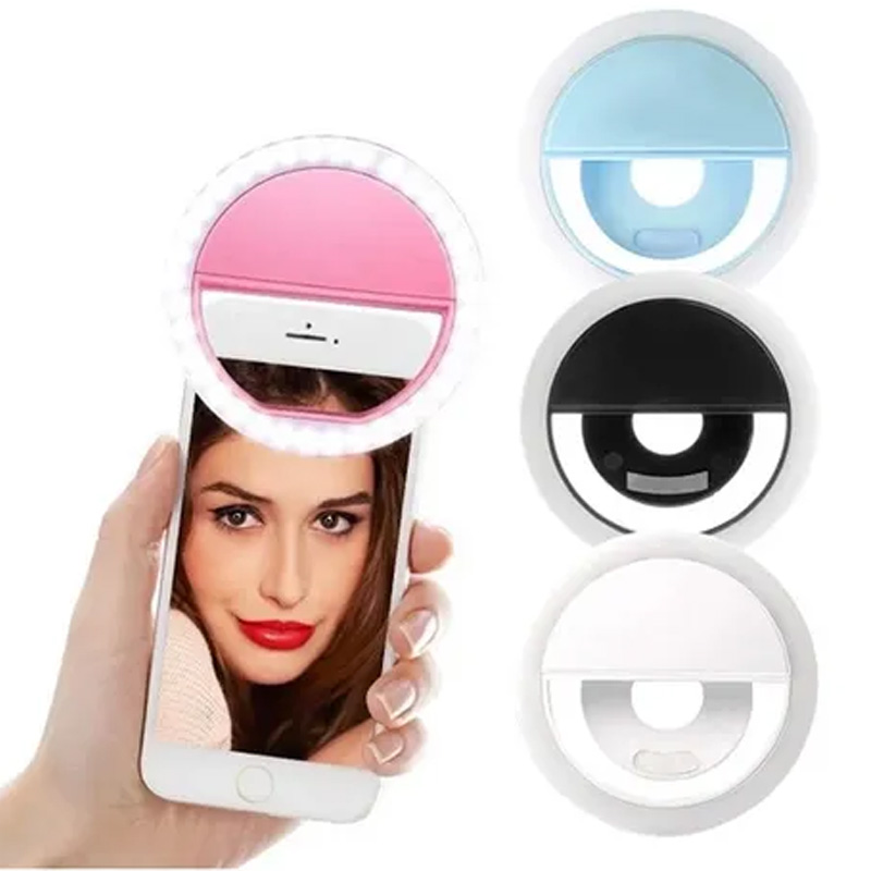Flash para Selfie - Anel Clip