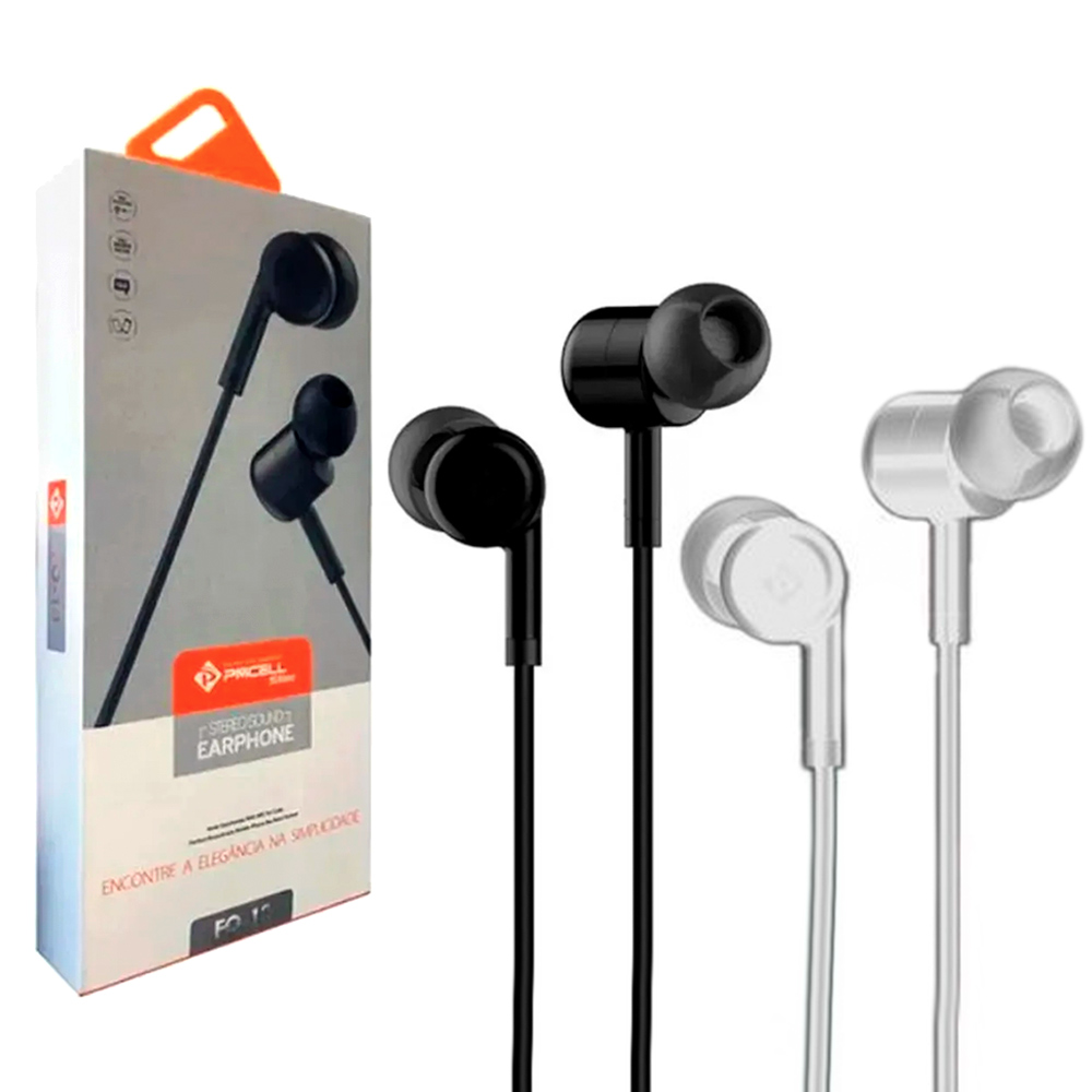 Fone de Ouvido Intra-Auricular Slim - PMCELL - FO-13