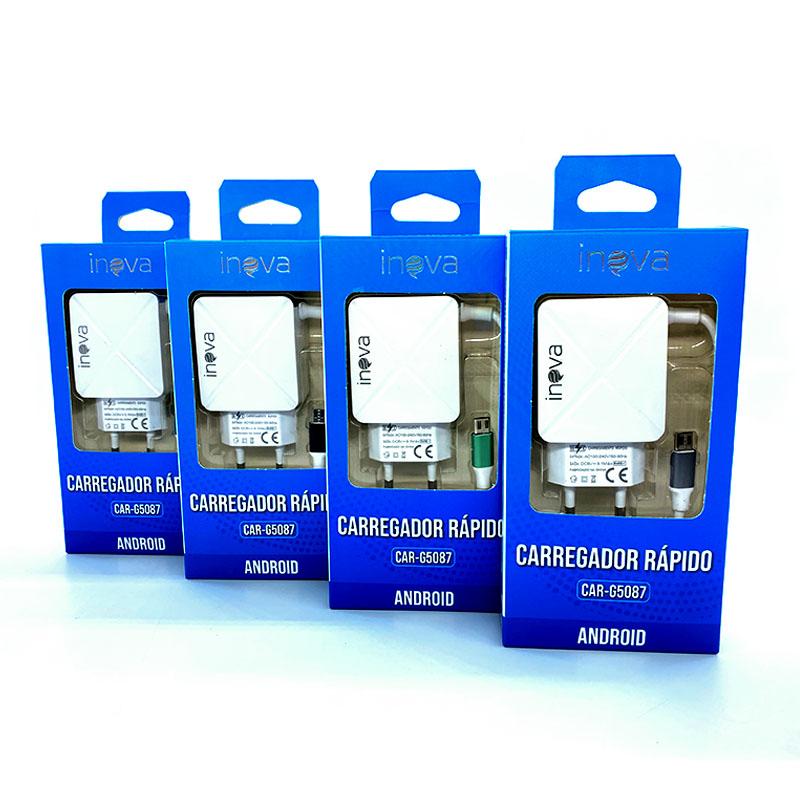 Fonte / Carregador Dual USB 3.1A - Inova - CAR-G5087