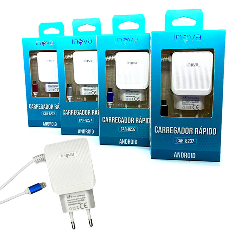 Fonte / Carregador Dual USB 4.1A - Inova - CAR-8237