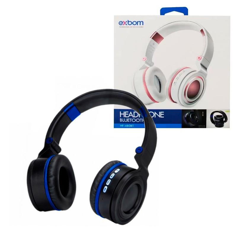 Headphone Bluetooth - Exbom - HF-480BT
