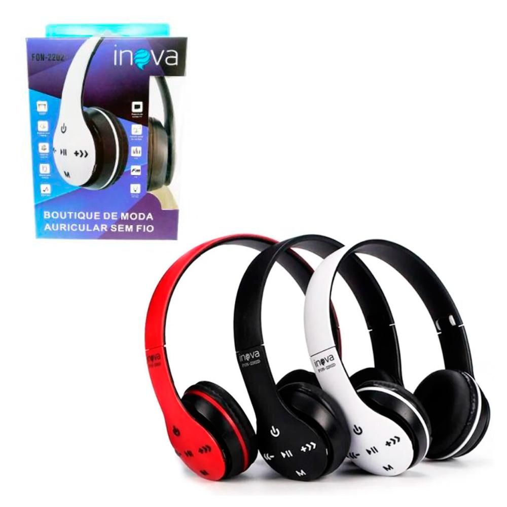 Headphone Bluetooth - Inova - FON-2202