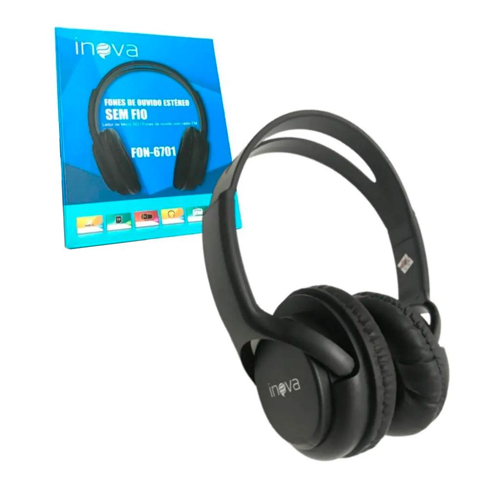 Headphone Bluetooth - Inova - FON-6701