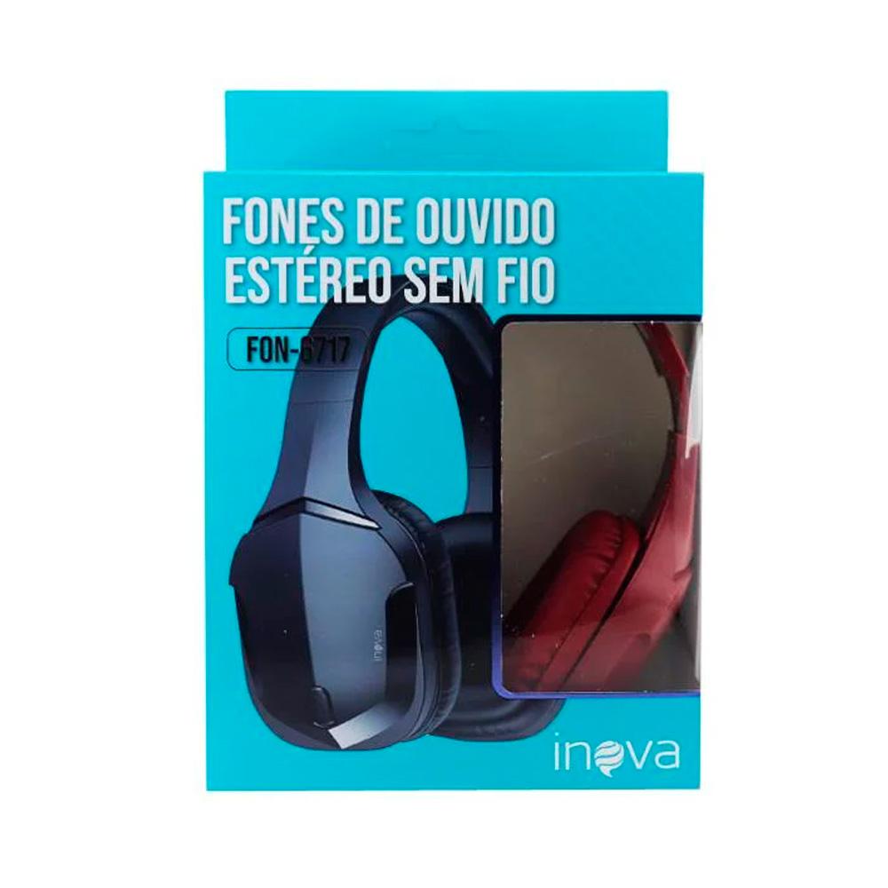 Headphone Bluetooth - Inova - FON-6717