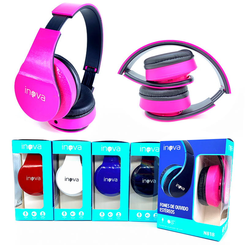 Headphone Bluetooth - Inova - FON-N818