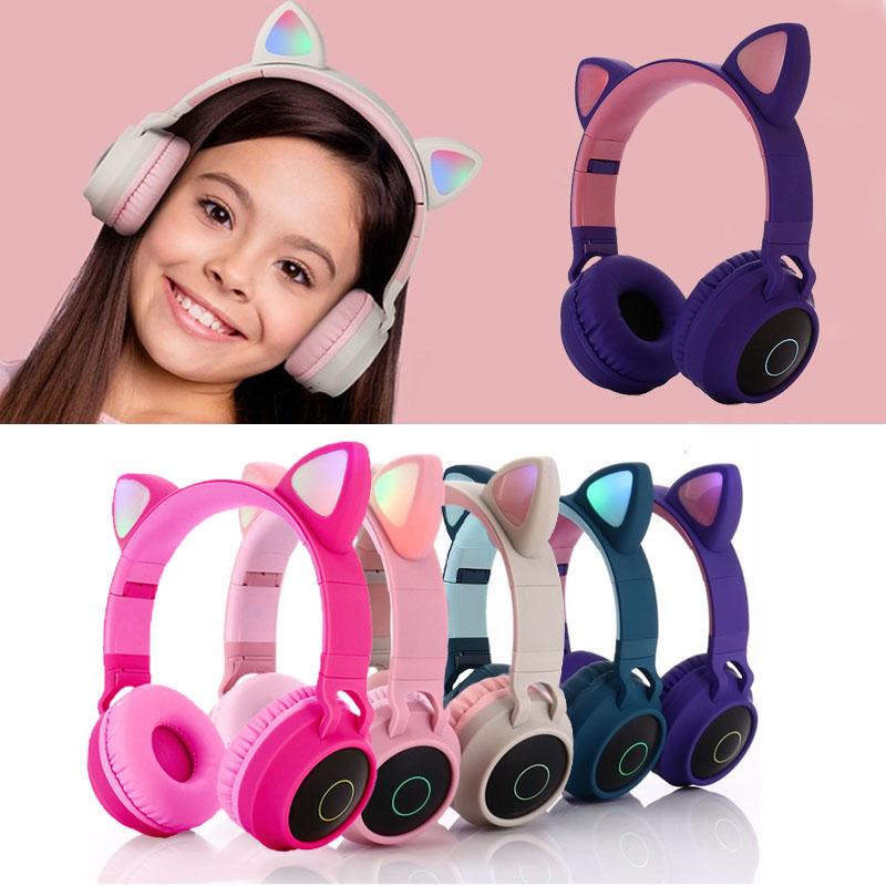 Headphone Bluetooth Orelha de Gato - Inova - FON-7428
