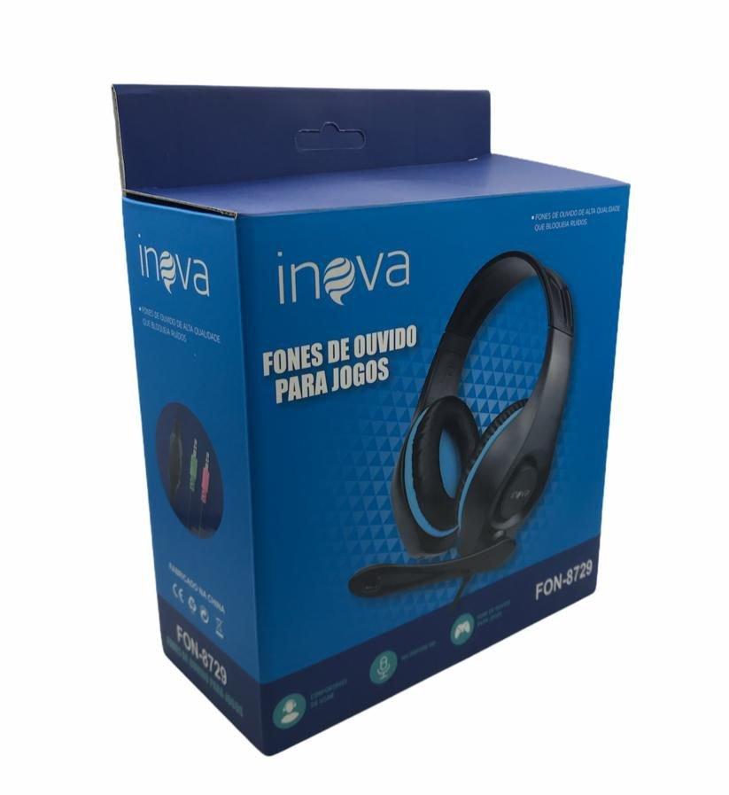 Headset - Inova - FON-8729