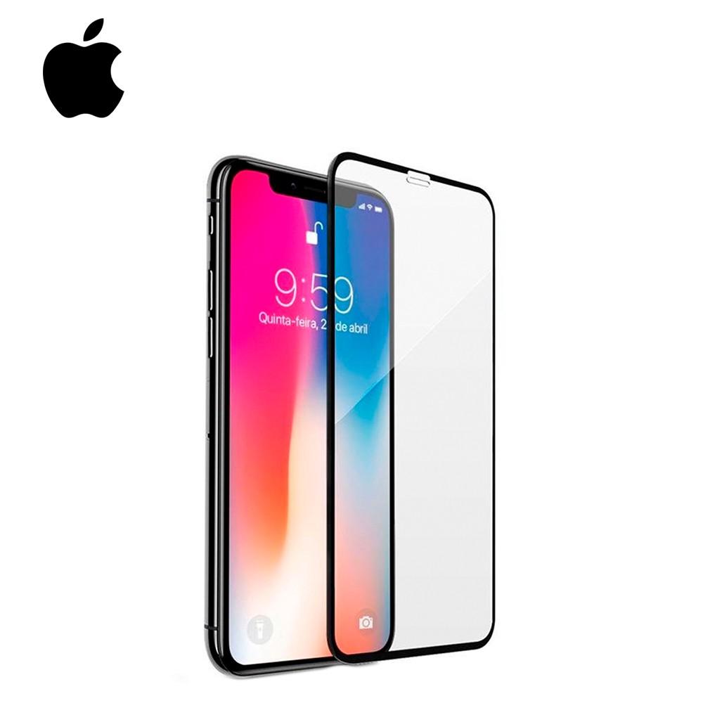 Película de Vidro Temperado 4D Borba Preta - Apple