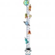 Adesivo Régua do Crescimento - Astronauta 415