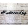 Aplique Café #cantinhodocafé Placa Decorativa