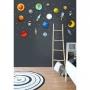 Kit De Placas Decorativas Astronauta, Naves E Planetas