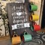 Porta Xícaras De Café - Placa Decorativa Em Mdf  - C3030