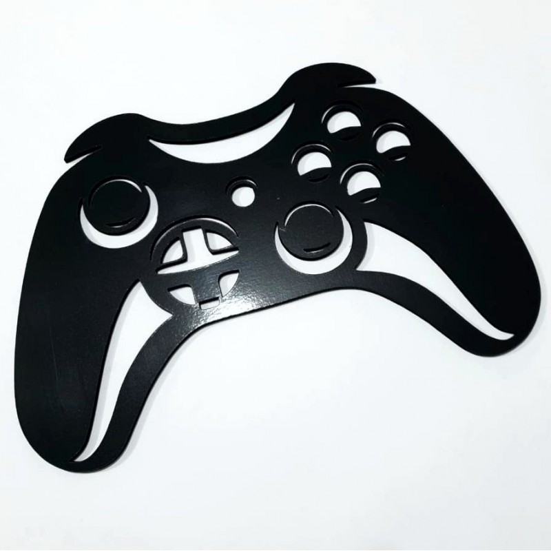 Placa Decorativa Controle de Video Game - Joystick - 40x30cm - C3081
