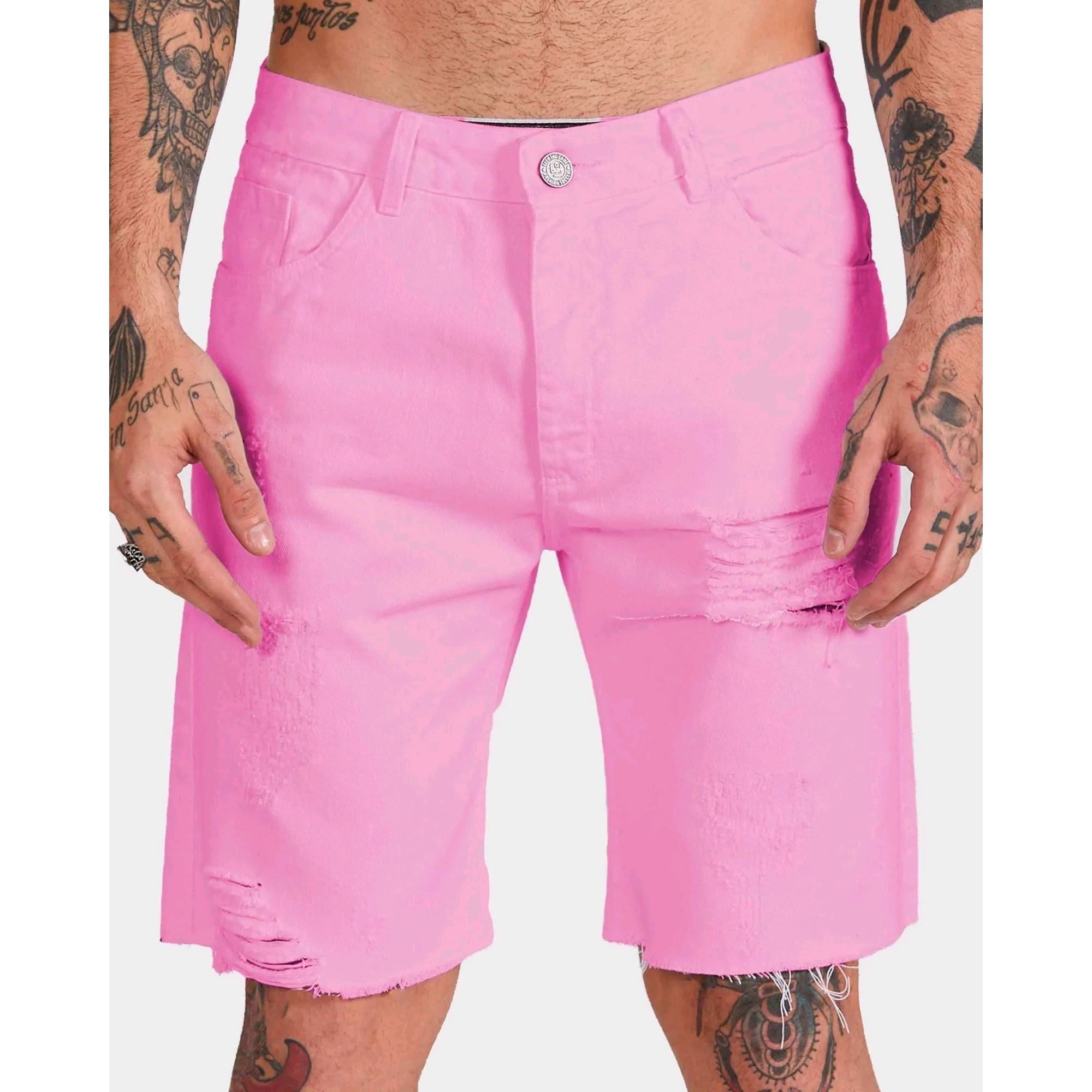 Bermuda Buh Jeans Respingo Rose