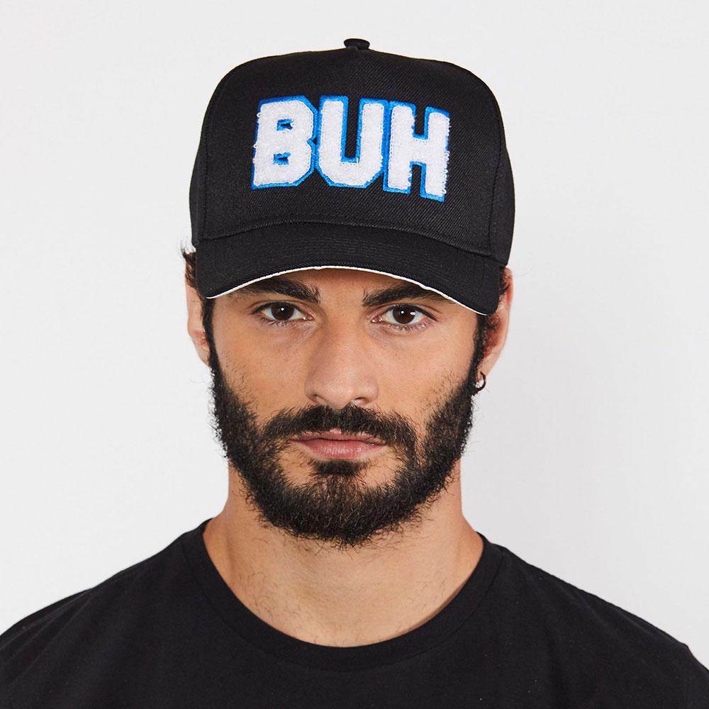 Boné Buh Chenille Preto