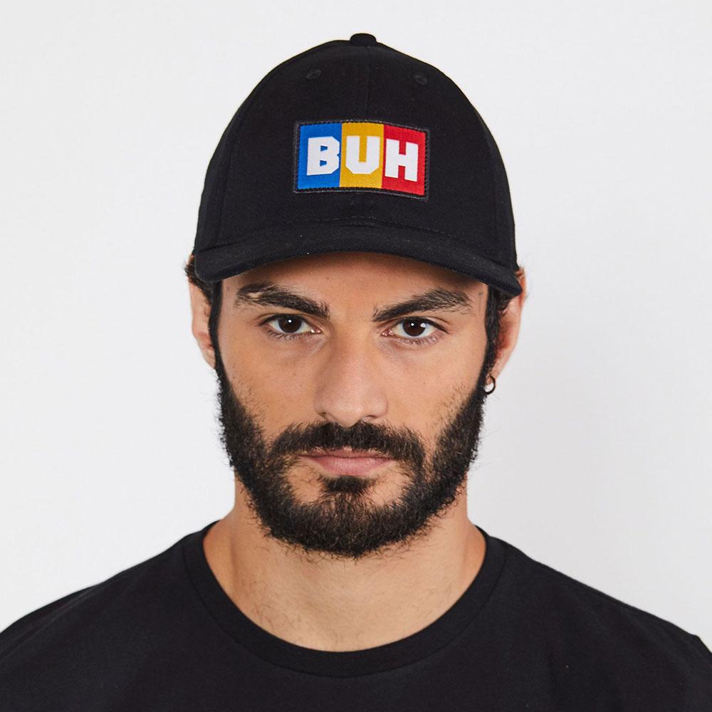Boné Buh Dad Hat Flag Preto