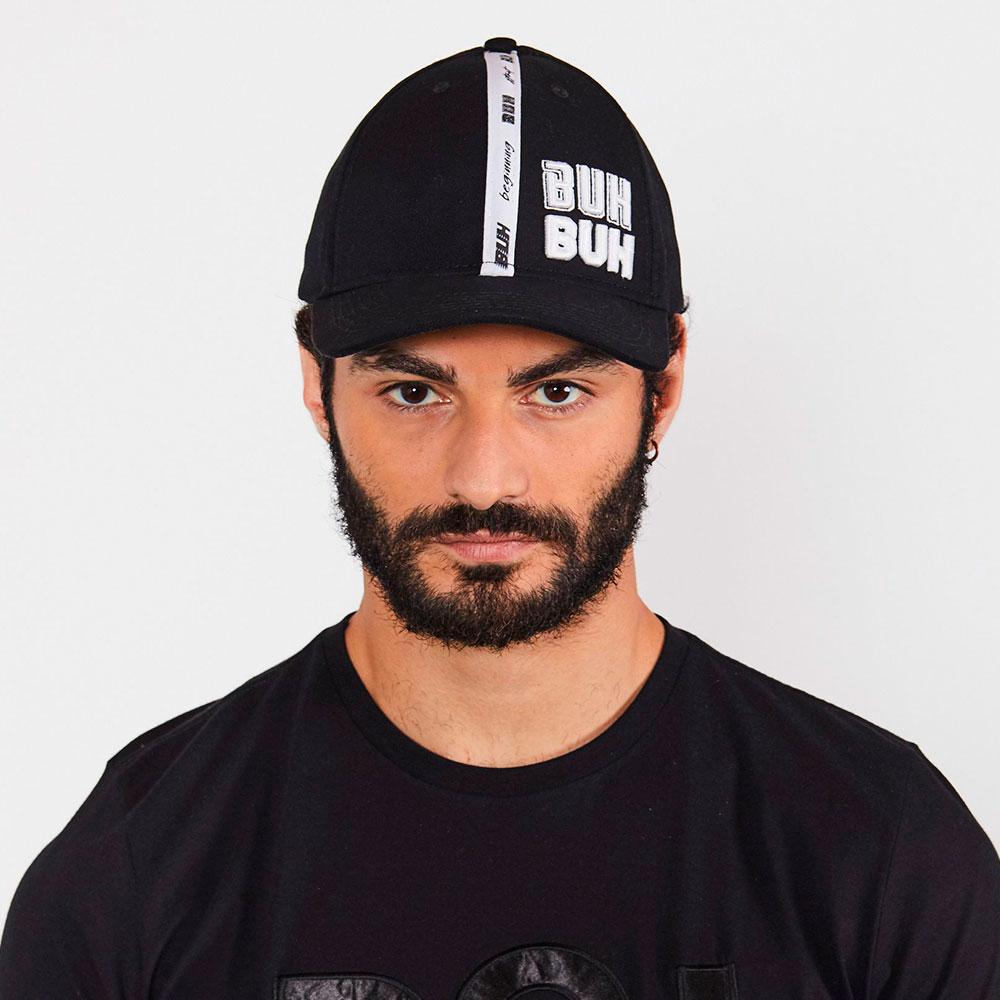 Boné Buh Dad Hat Gordurao Preto