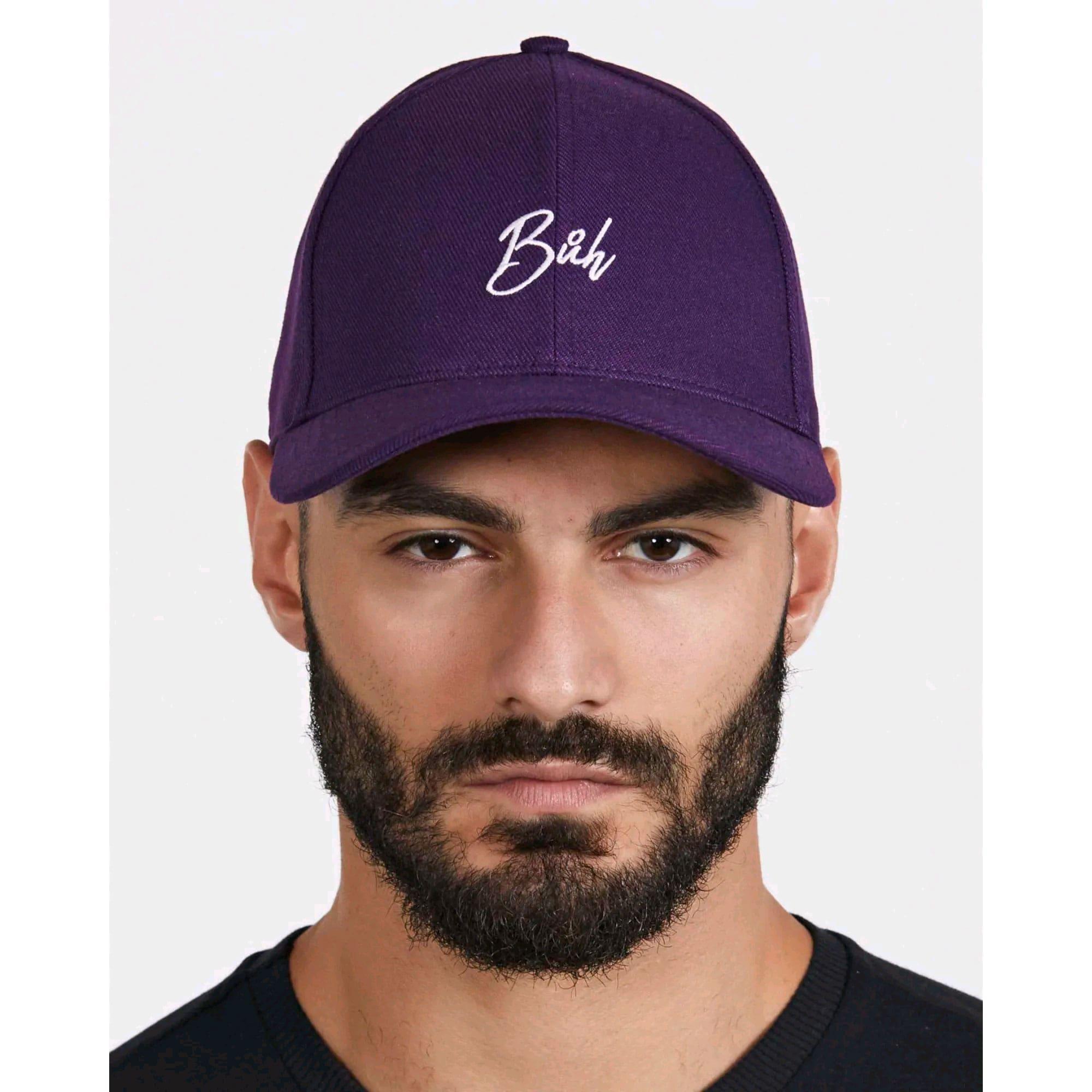 Bone Buh Dad Hat Purple
