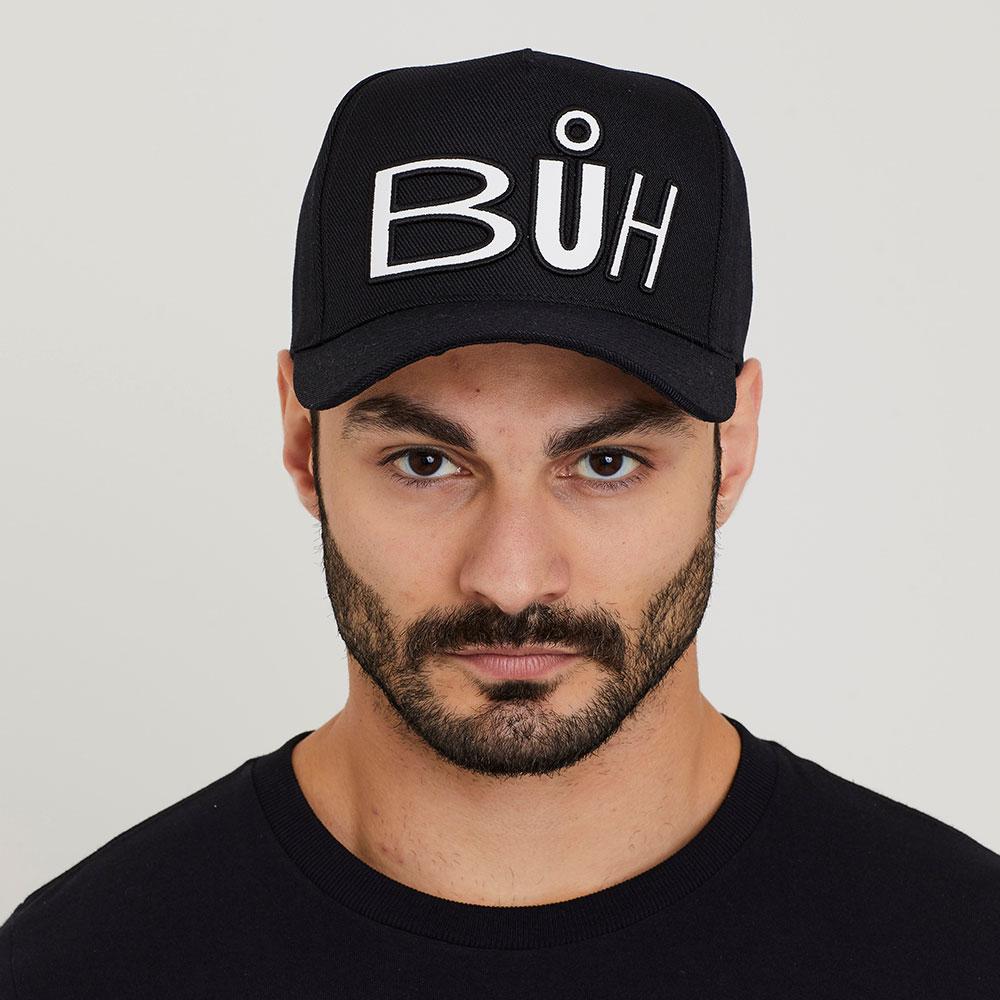 Boné Buh Preto Together