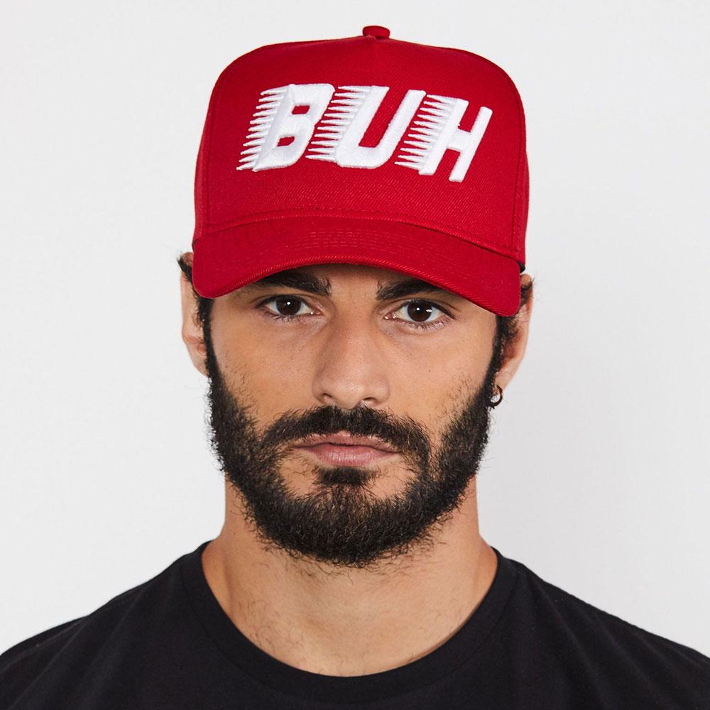 Boné Buh Speed Vermelho