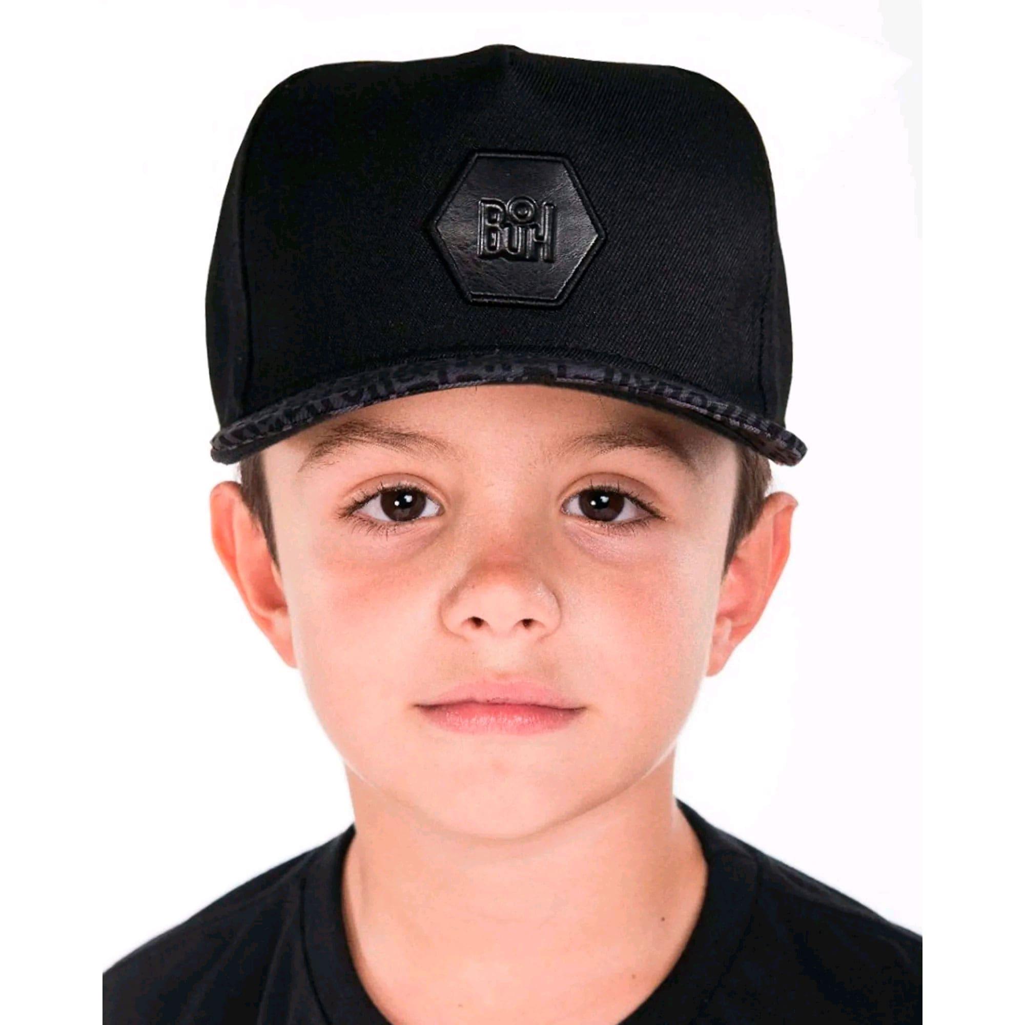 Boné Buh Kids Logos Black