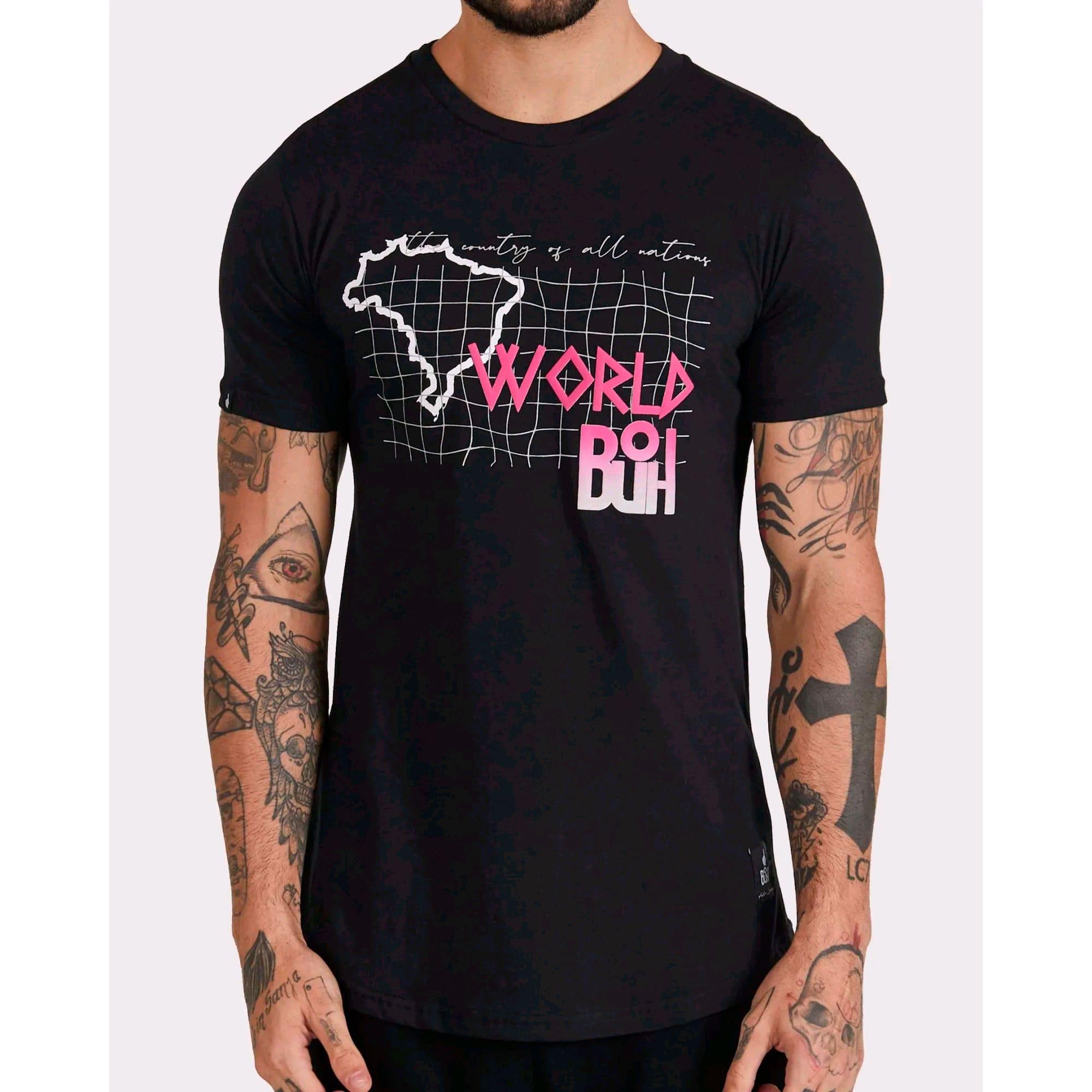 Camiseta Buh All Nations Black