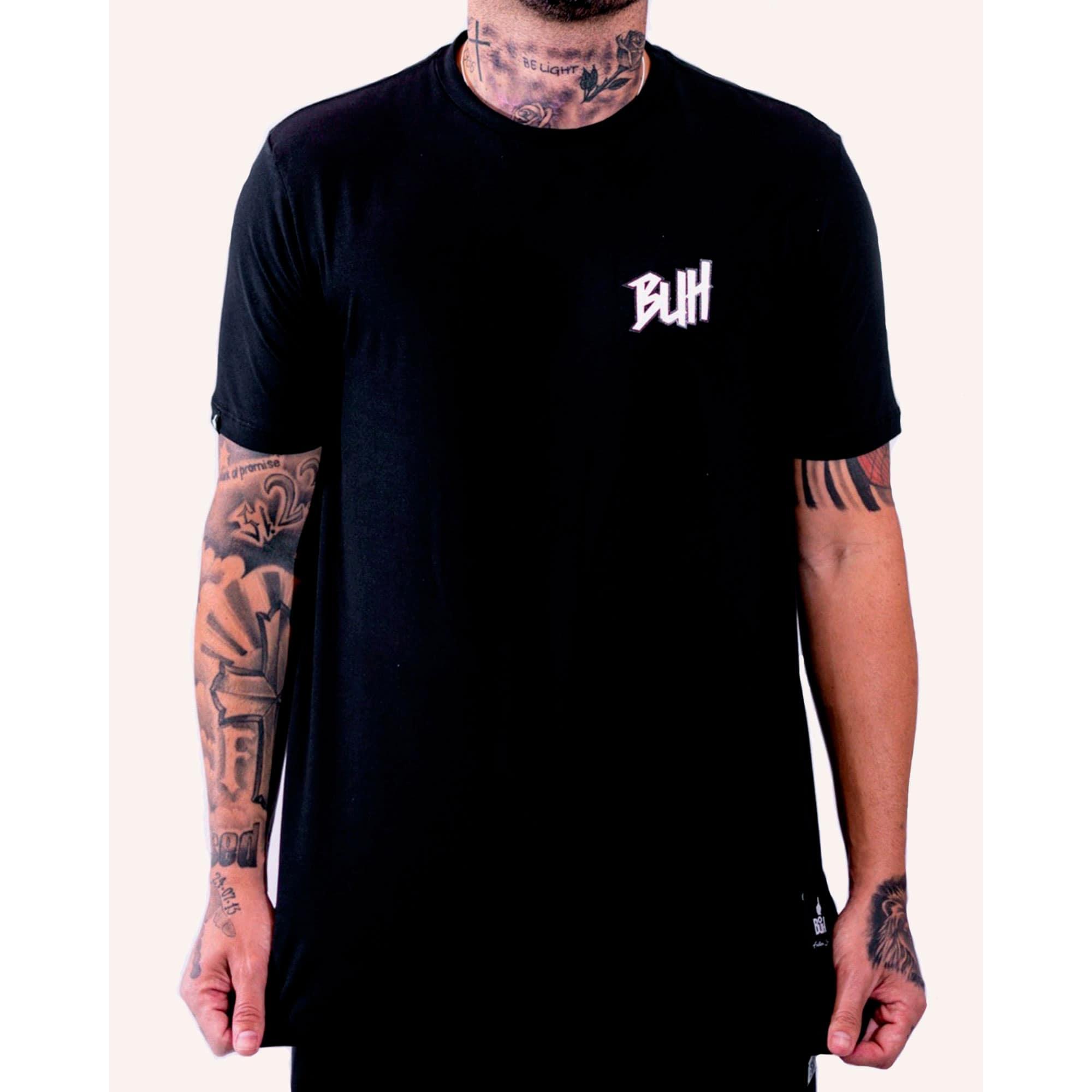 Camiseta Buh Basic HQ Black