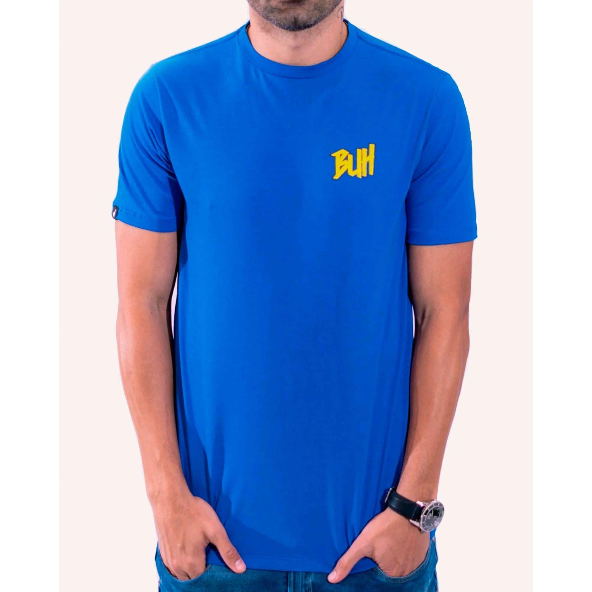 Camiseta Buh Basic HQ Blue