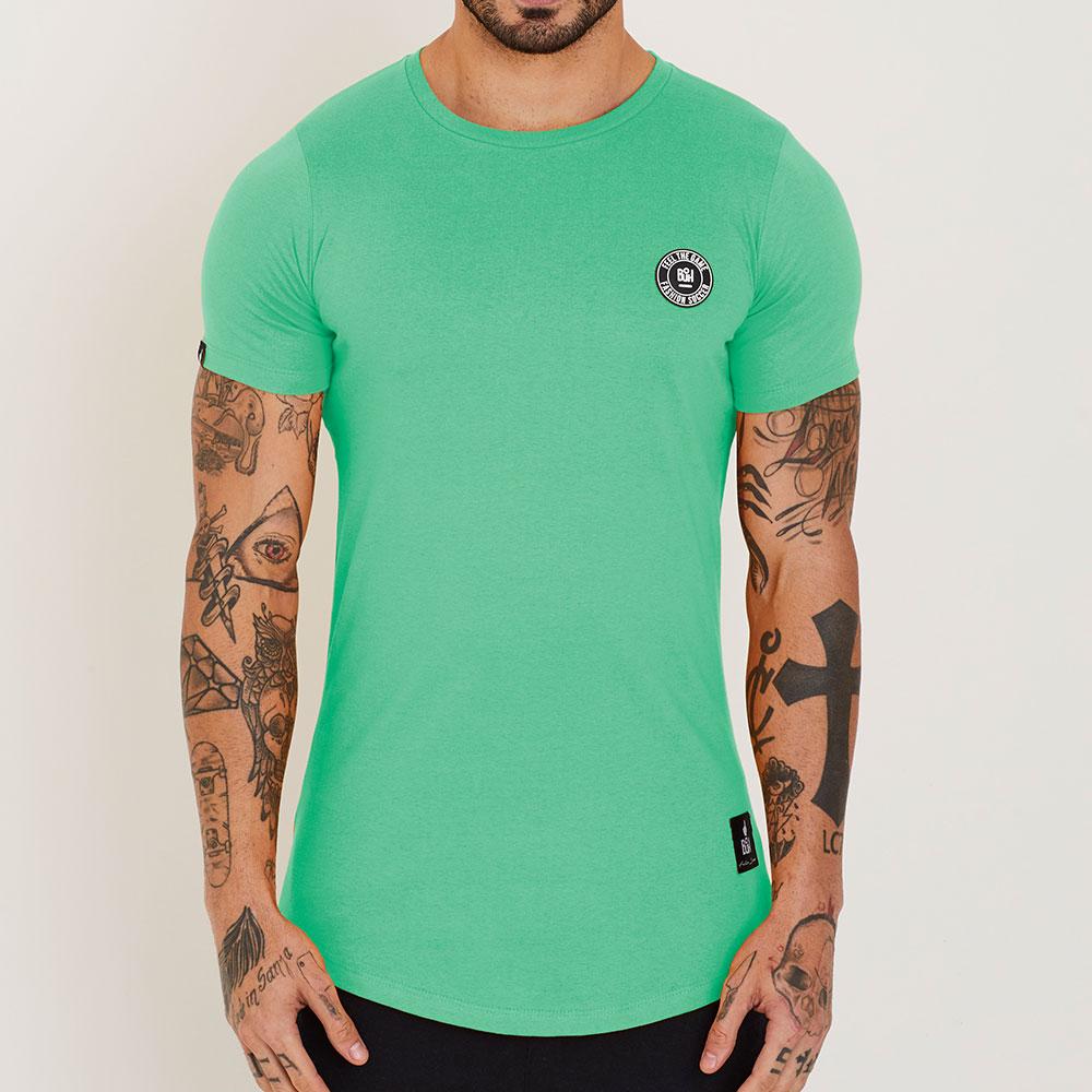 Camiseta Buh Basic Rubber Esmeralda