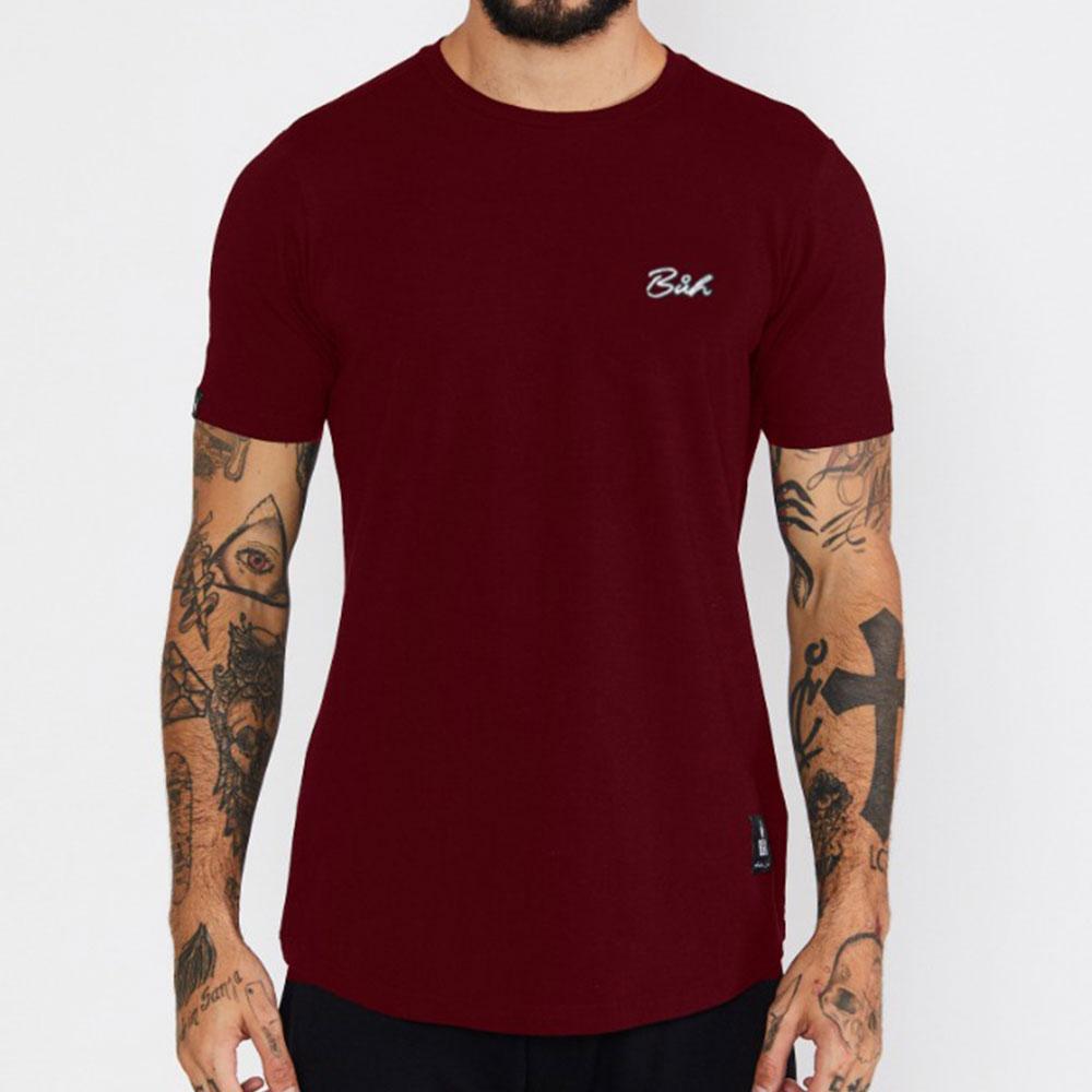 Camiseta Buh Básica Vermelha
