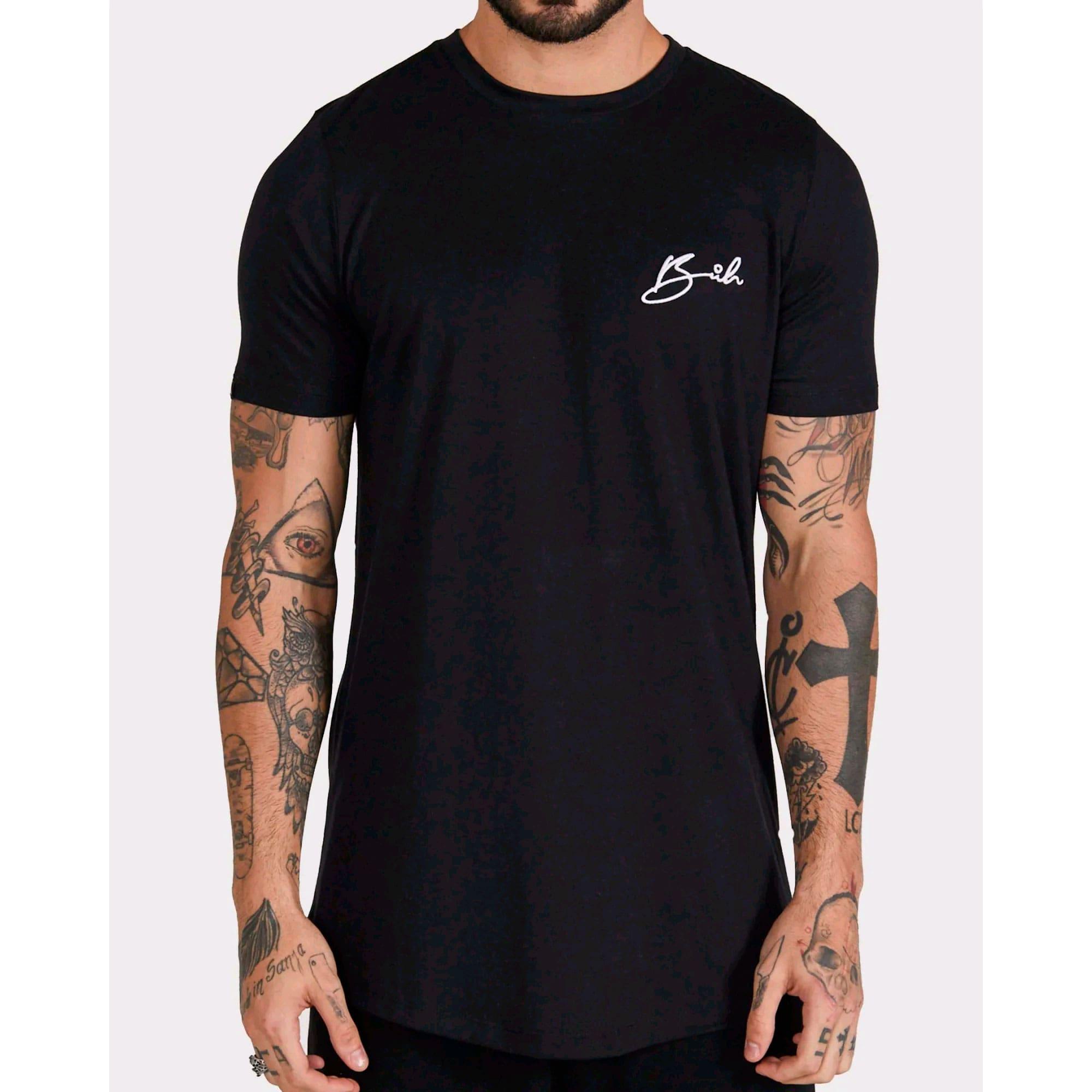 Camiseta Buh Bordado Black