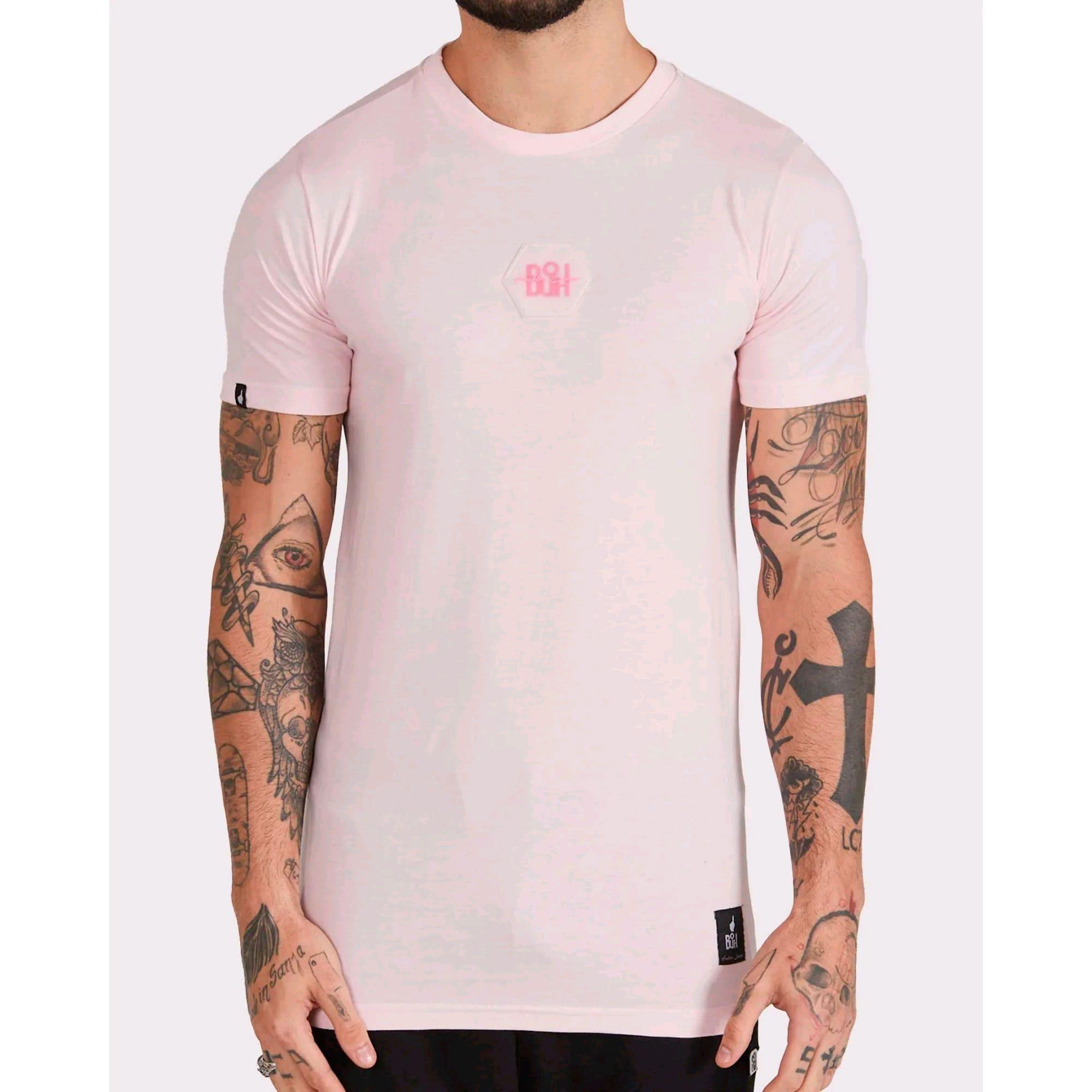 Camiseta Buh Bordado Rubber Rose
