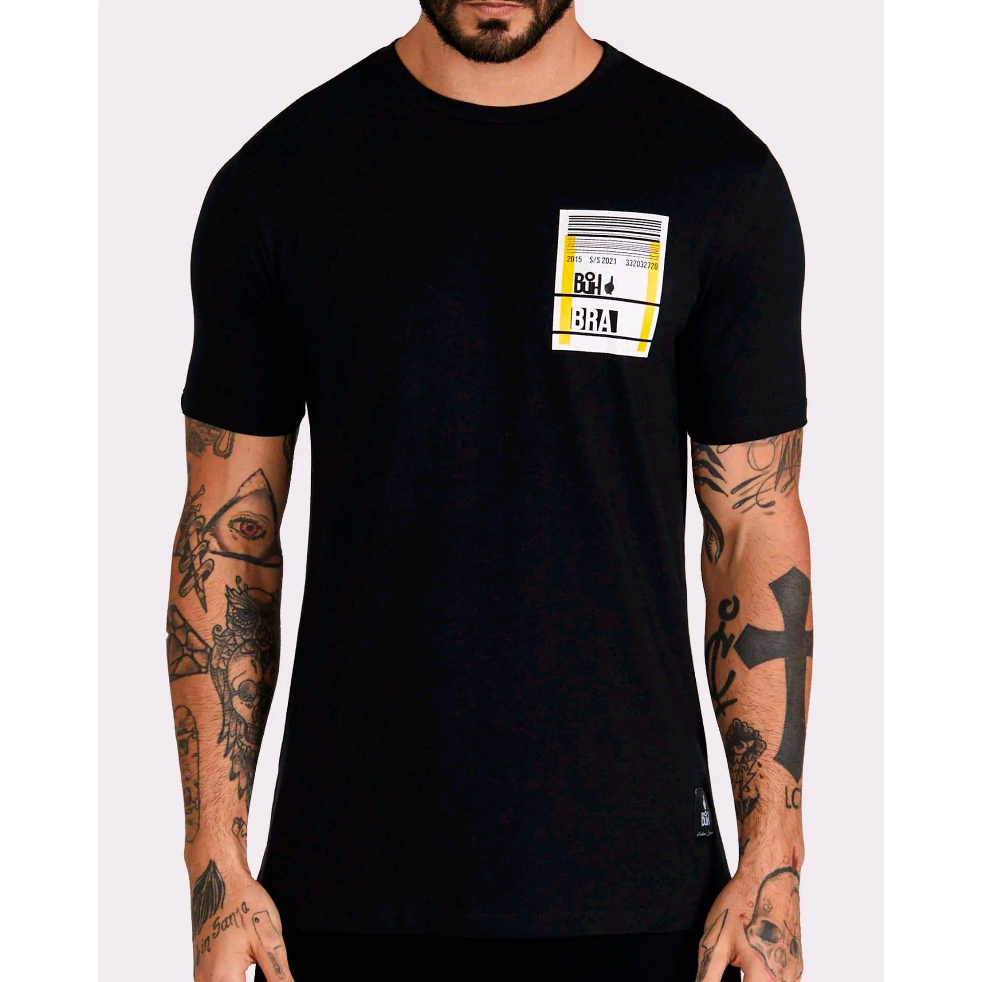 Camiseta Buh Cartão de Embarque Black