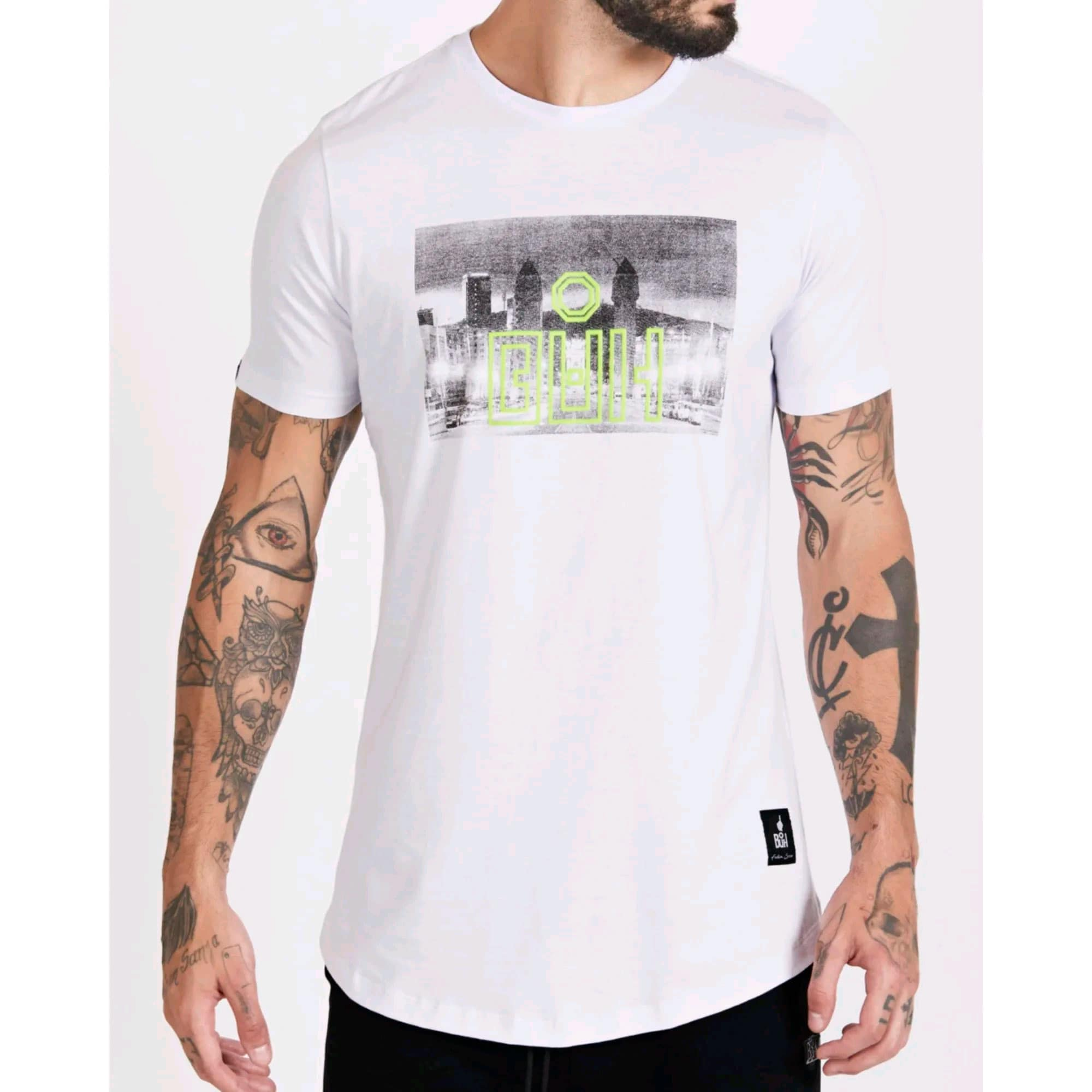 Camiseta Buh City White