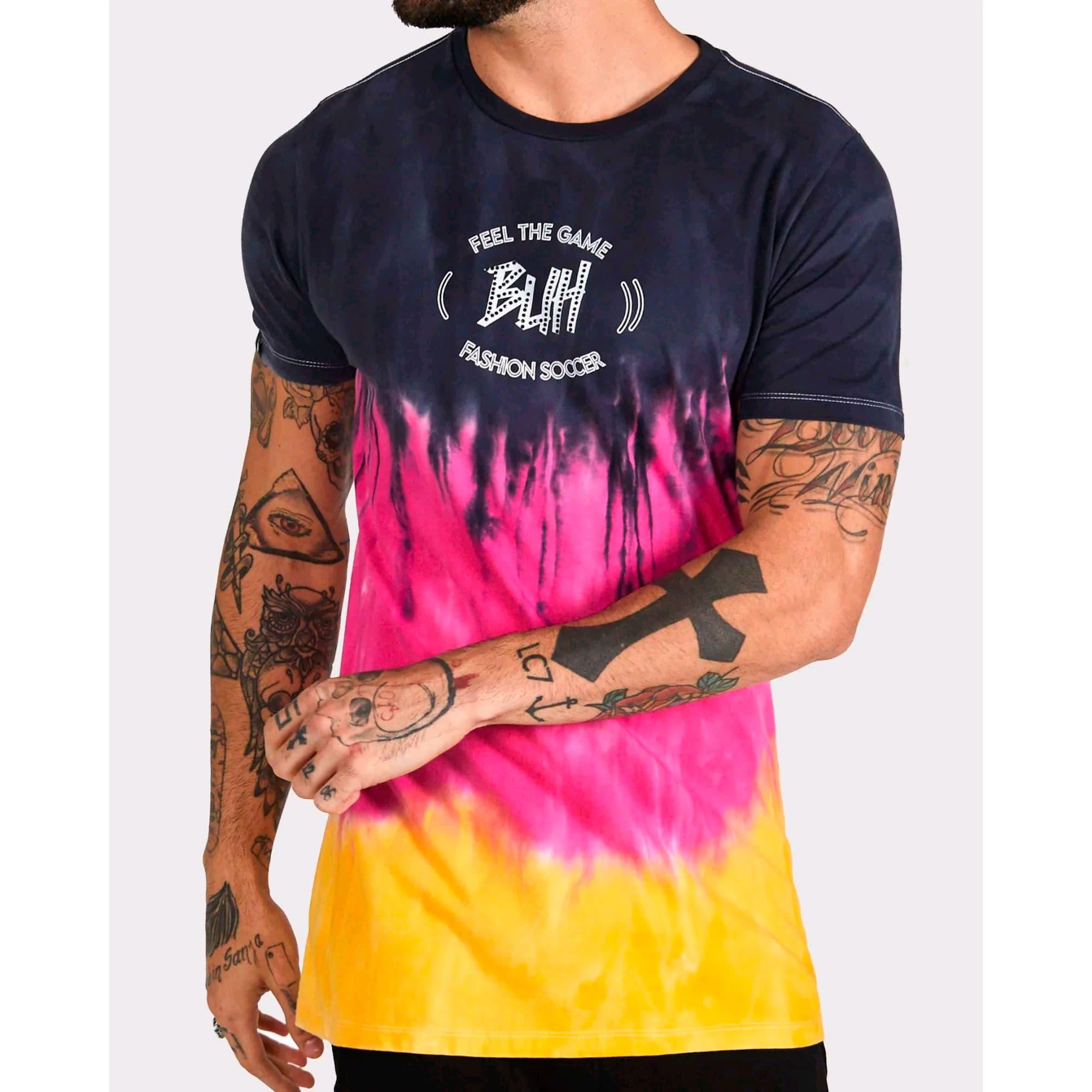 Camiseta Buh Degradê Fire