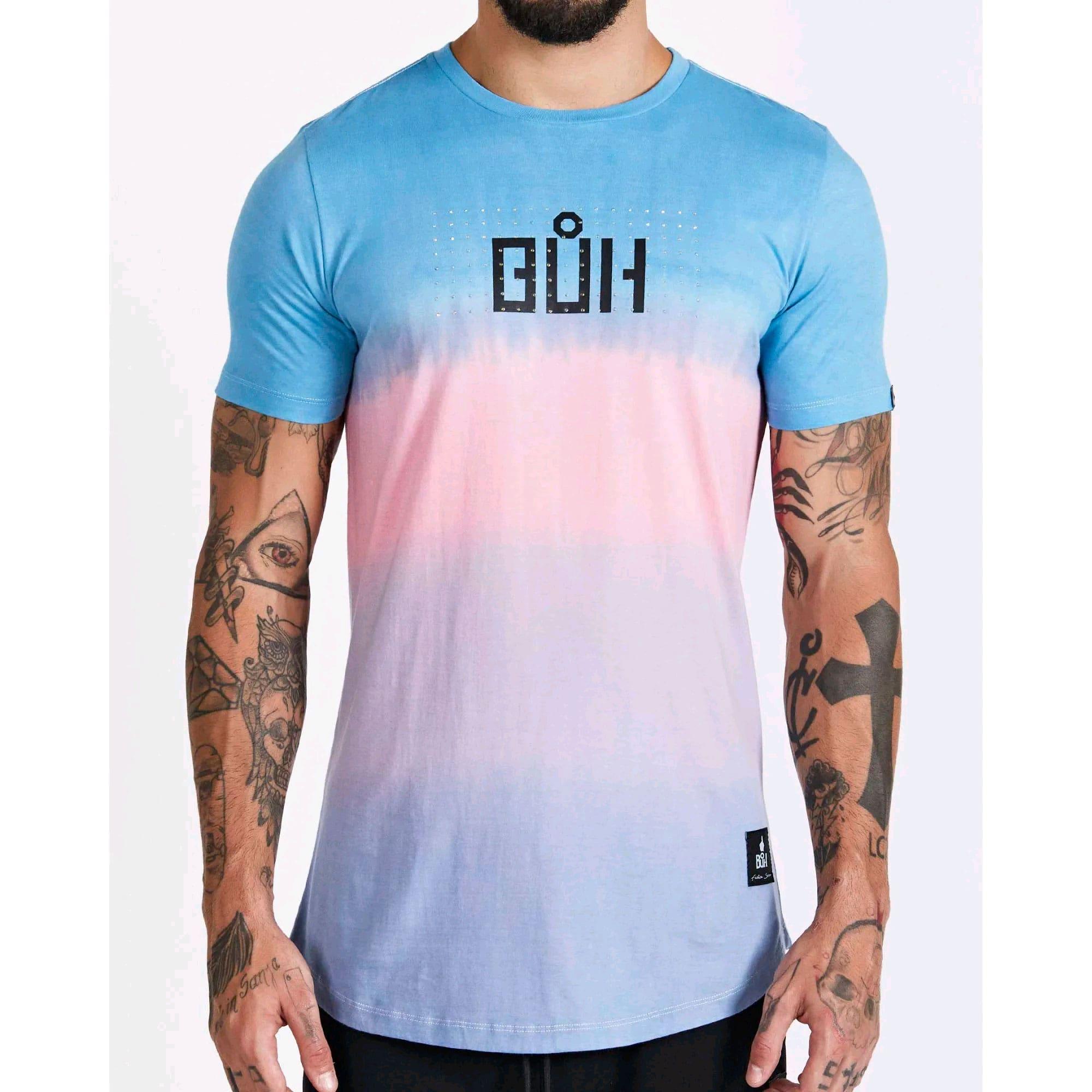 Camiseta Buh Degradê Three Colors